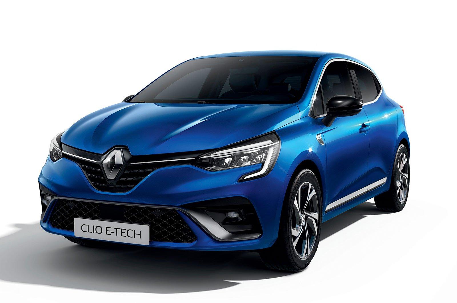 Renault Clio E-tech front
