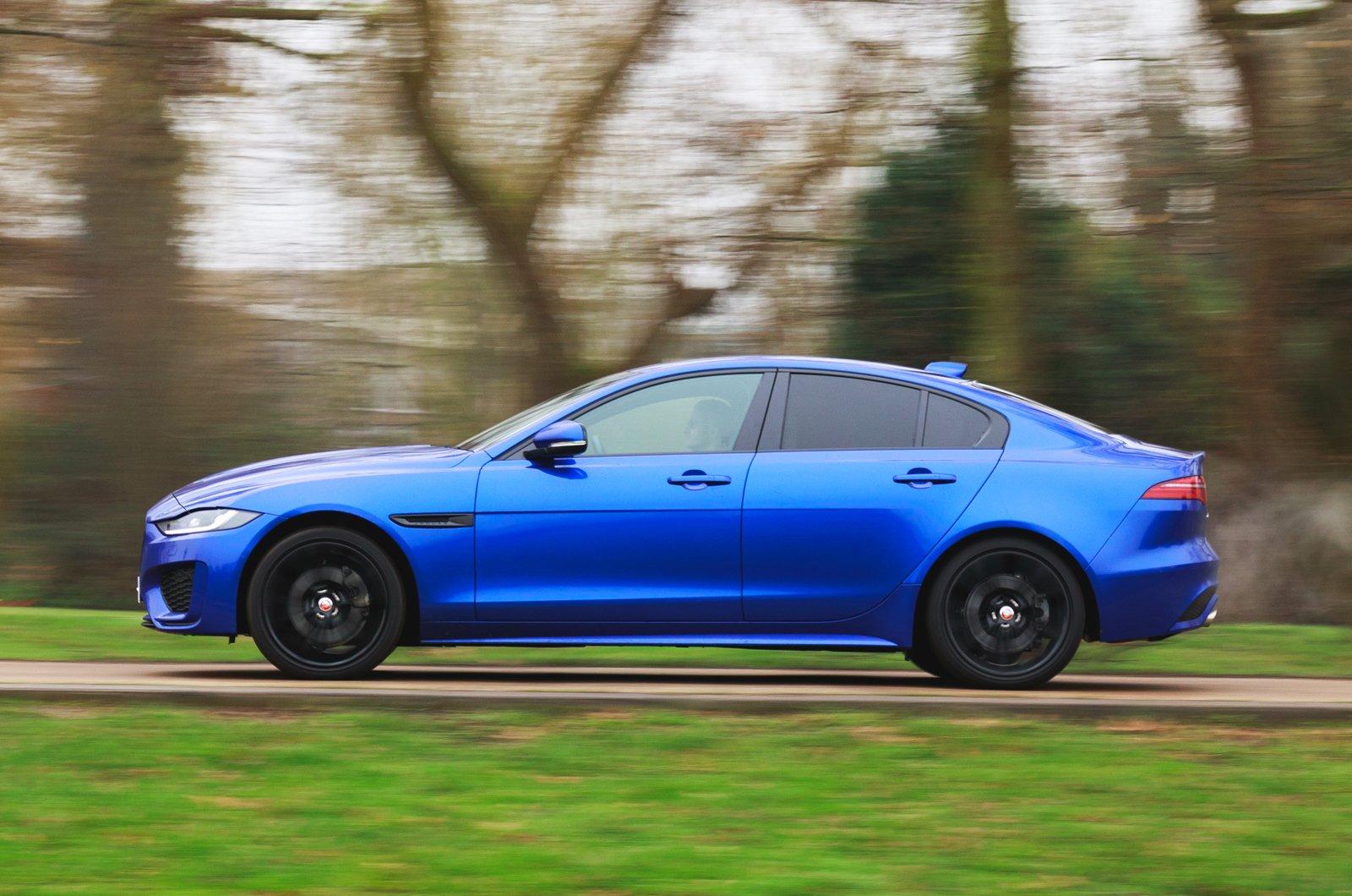 LT Jaguar XE side