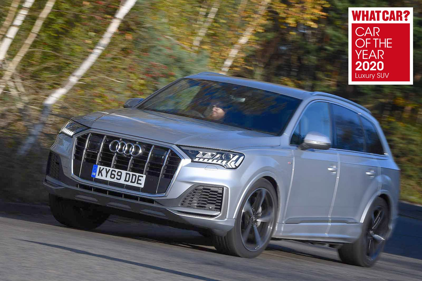 Audi Q7 2020 awards pic