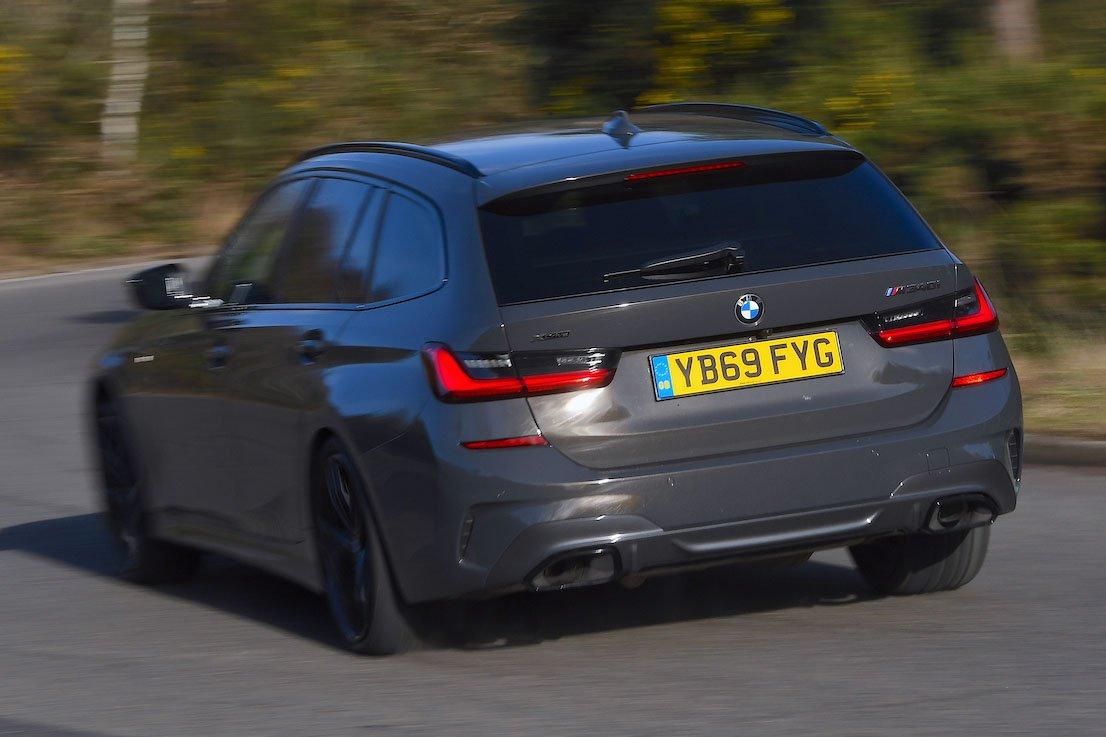 BMW M340i Rear Corner Shot