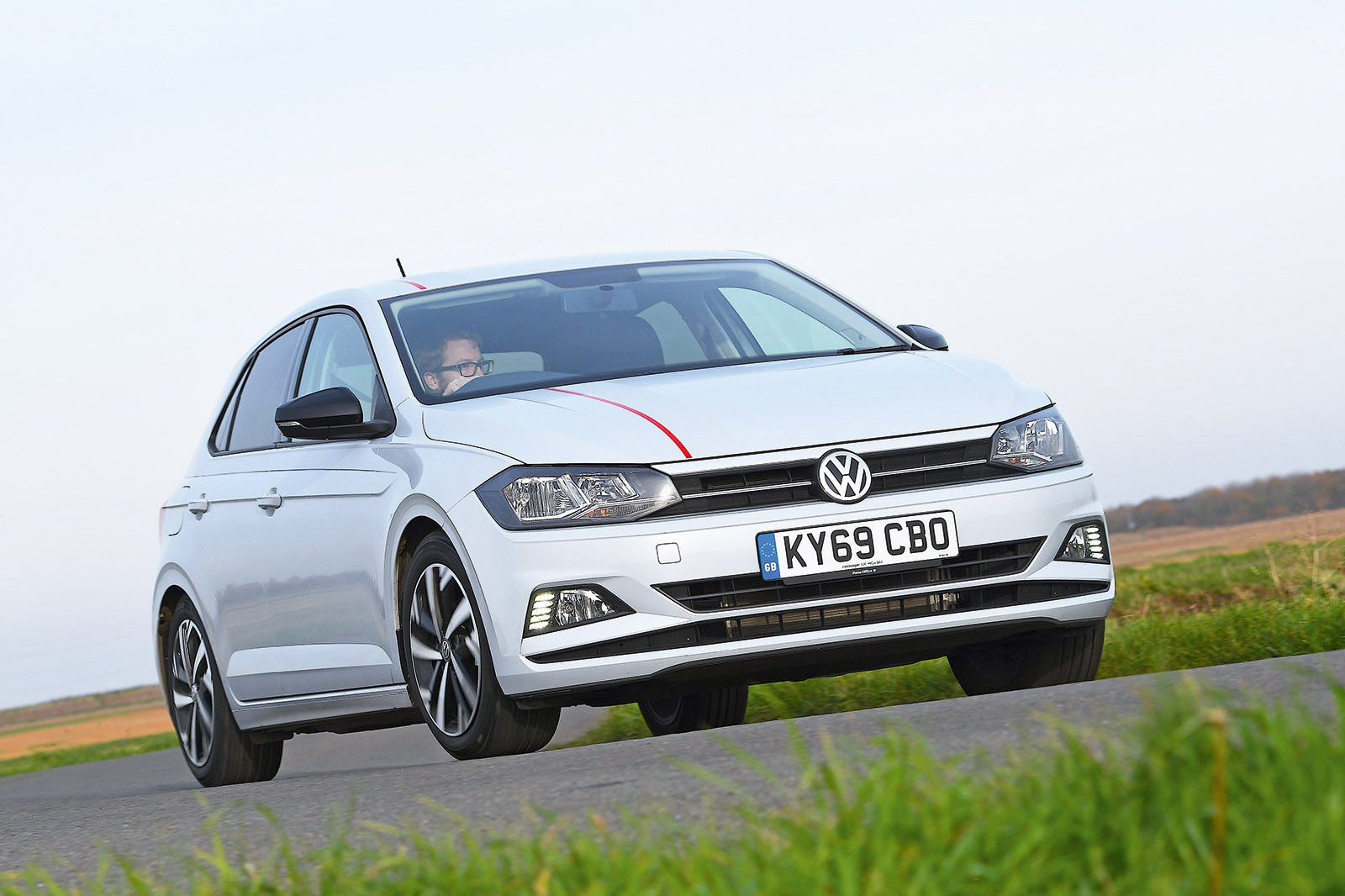Volkswagen Polo driving