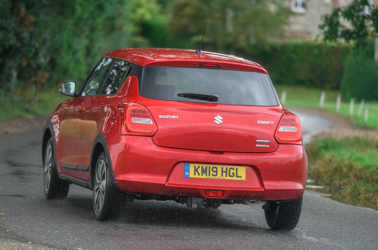 Long term Suzuki Swift rear corner