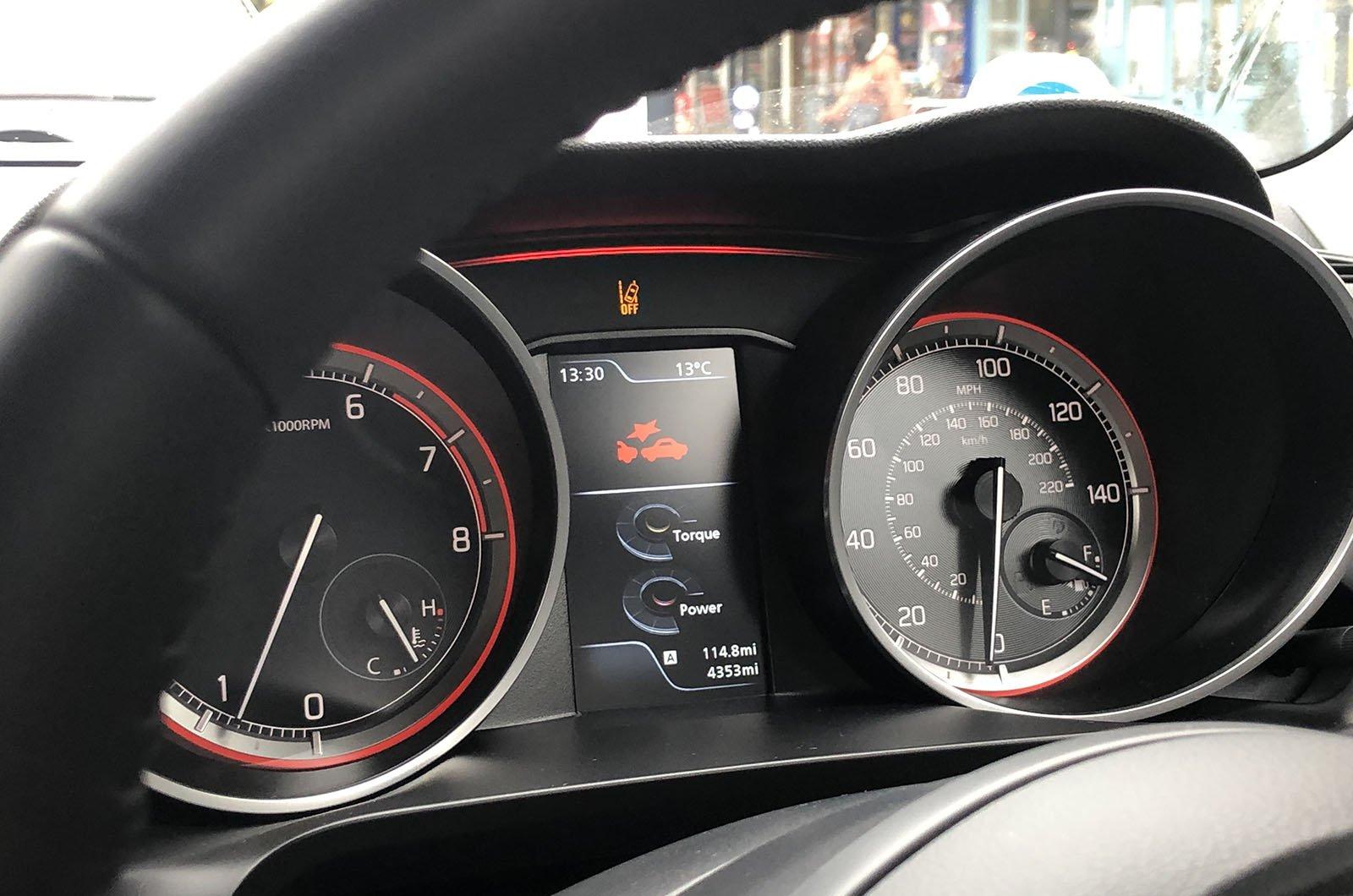 Long term Suzuki Swift emergency brake