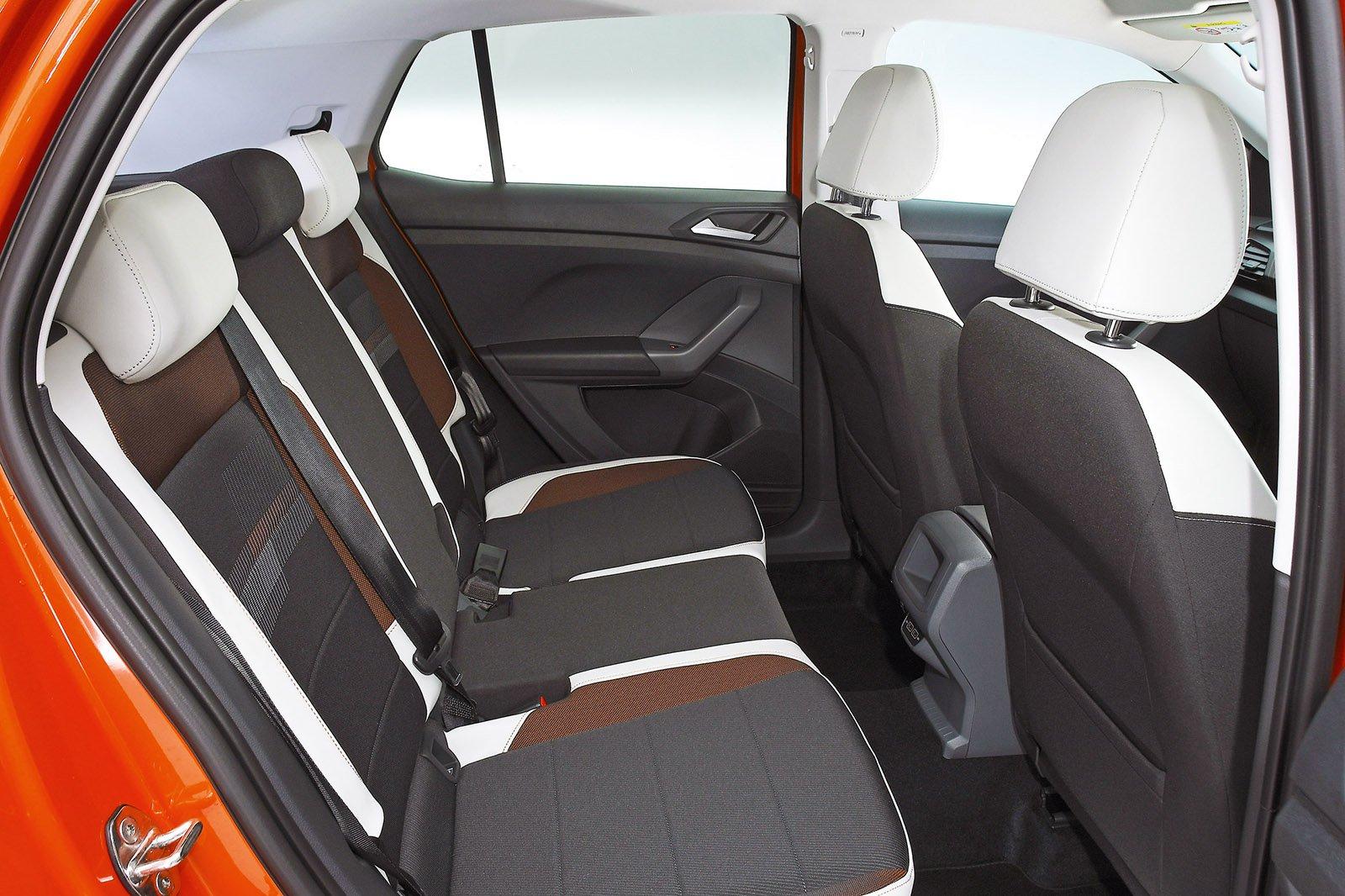 Volkswagen T-Cross rear seats