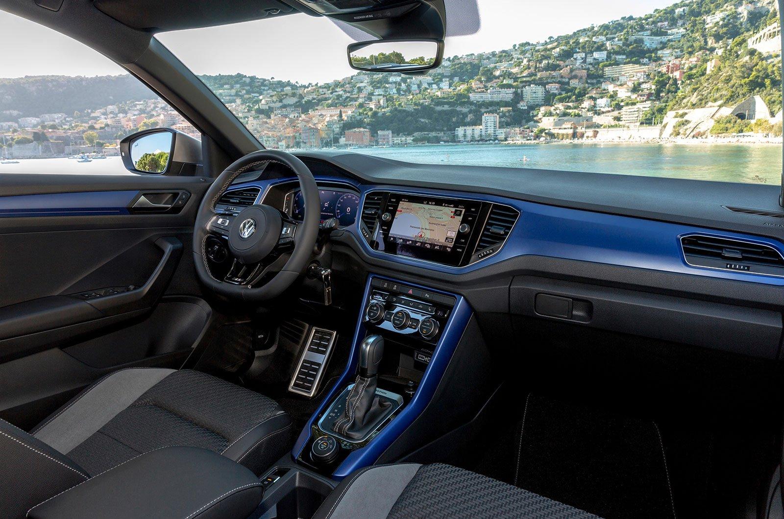 Volkswagen T-Roc R interior inserts