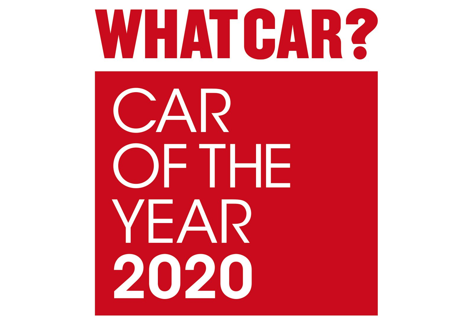 What Car? Car of the Year 2020 logo