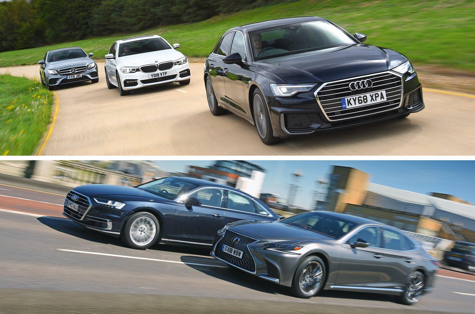Luxury car compilation image