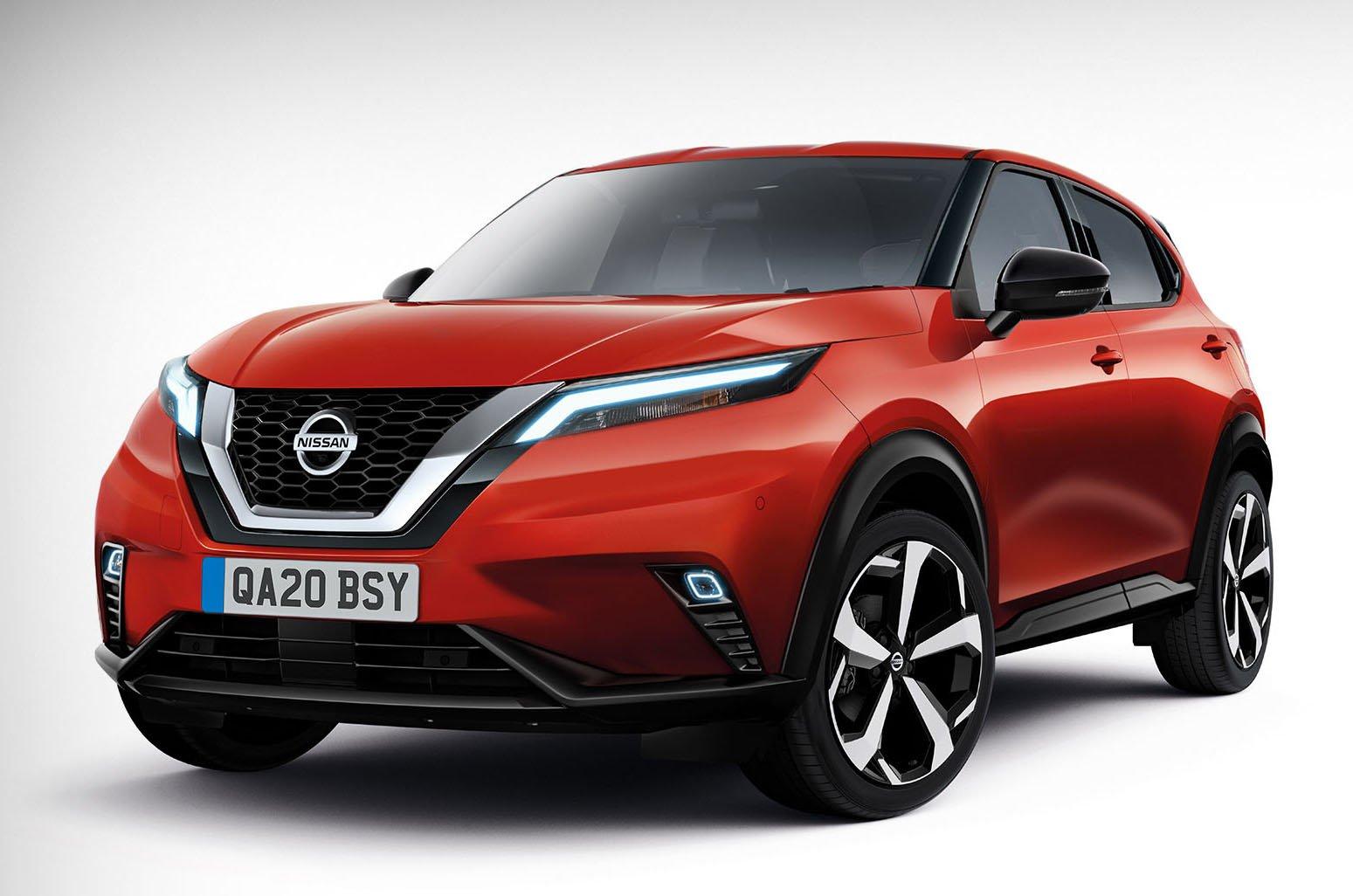 2020 Nissan Qashqai rendering