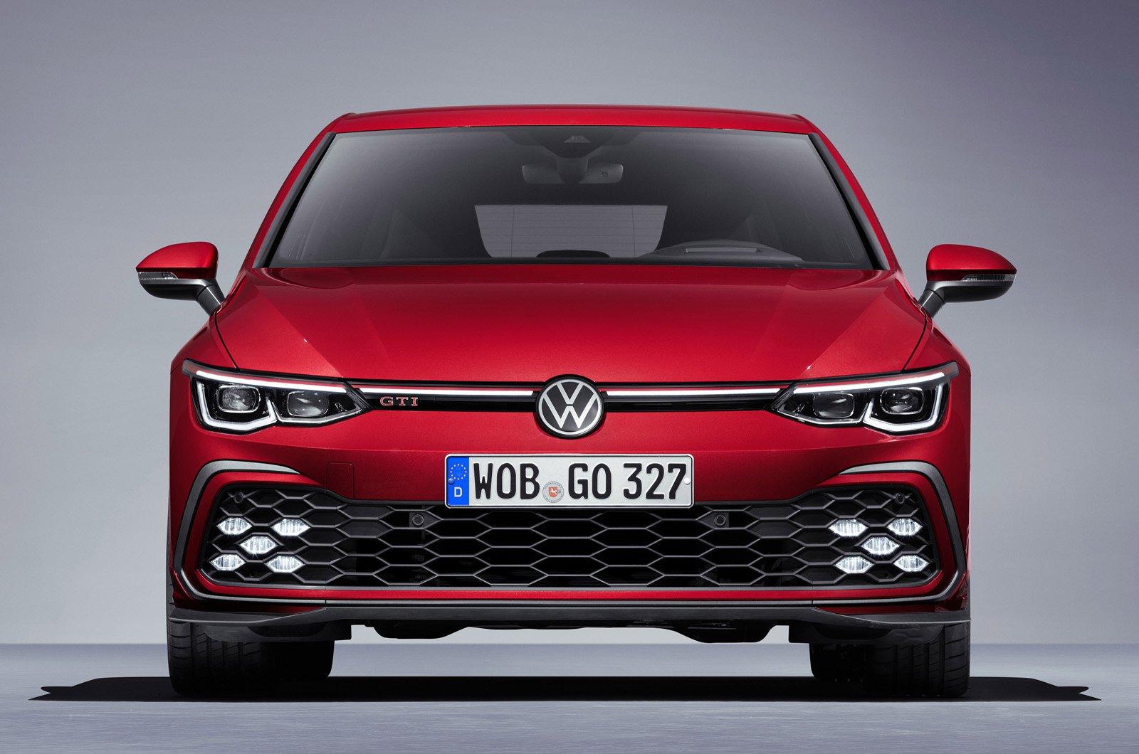 2020 Volkswagen Golf GTI nose