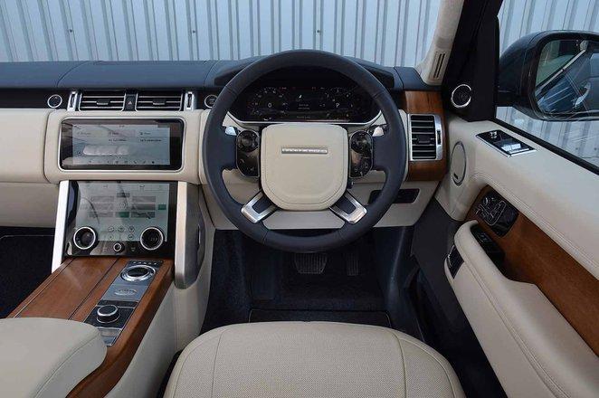 Range Rover interior picture
