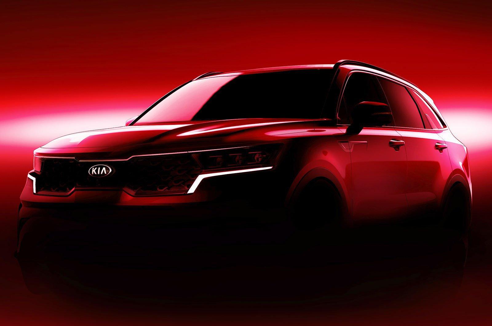 Kia Sorento concept teaser image