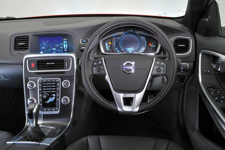 Volvo S60 and V60 - interior