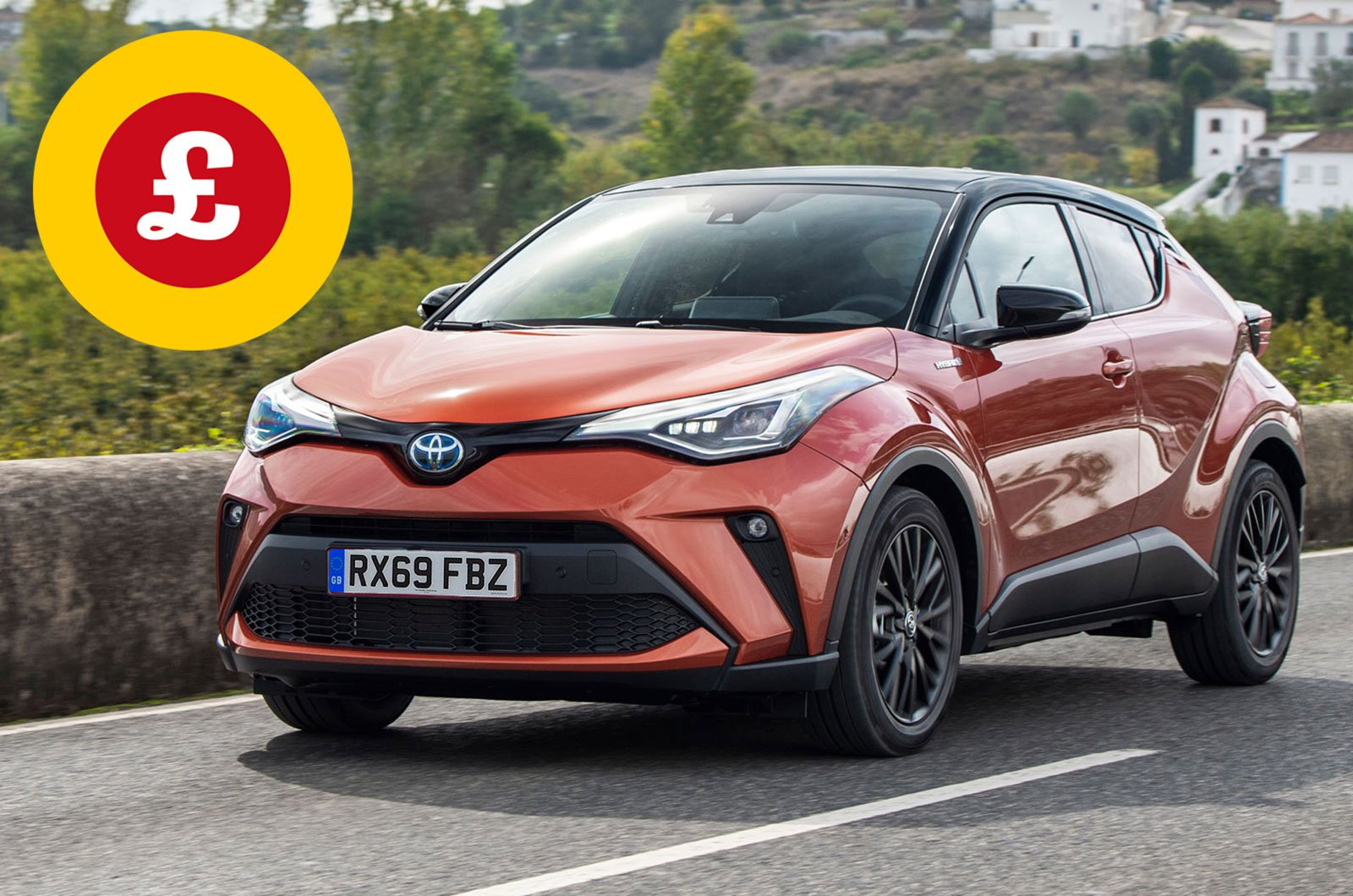 Toyota C-HR with Target Price logo