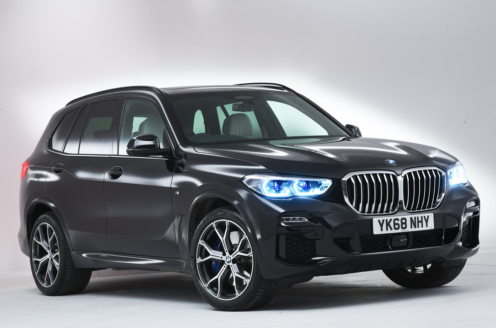 BMW X5 front - studio shot