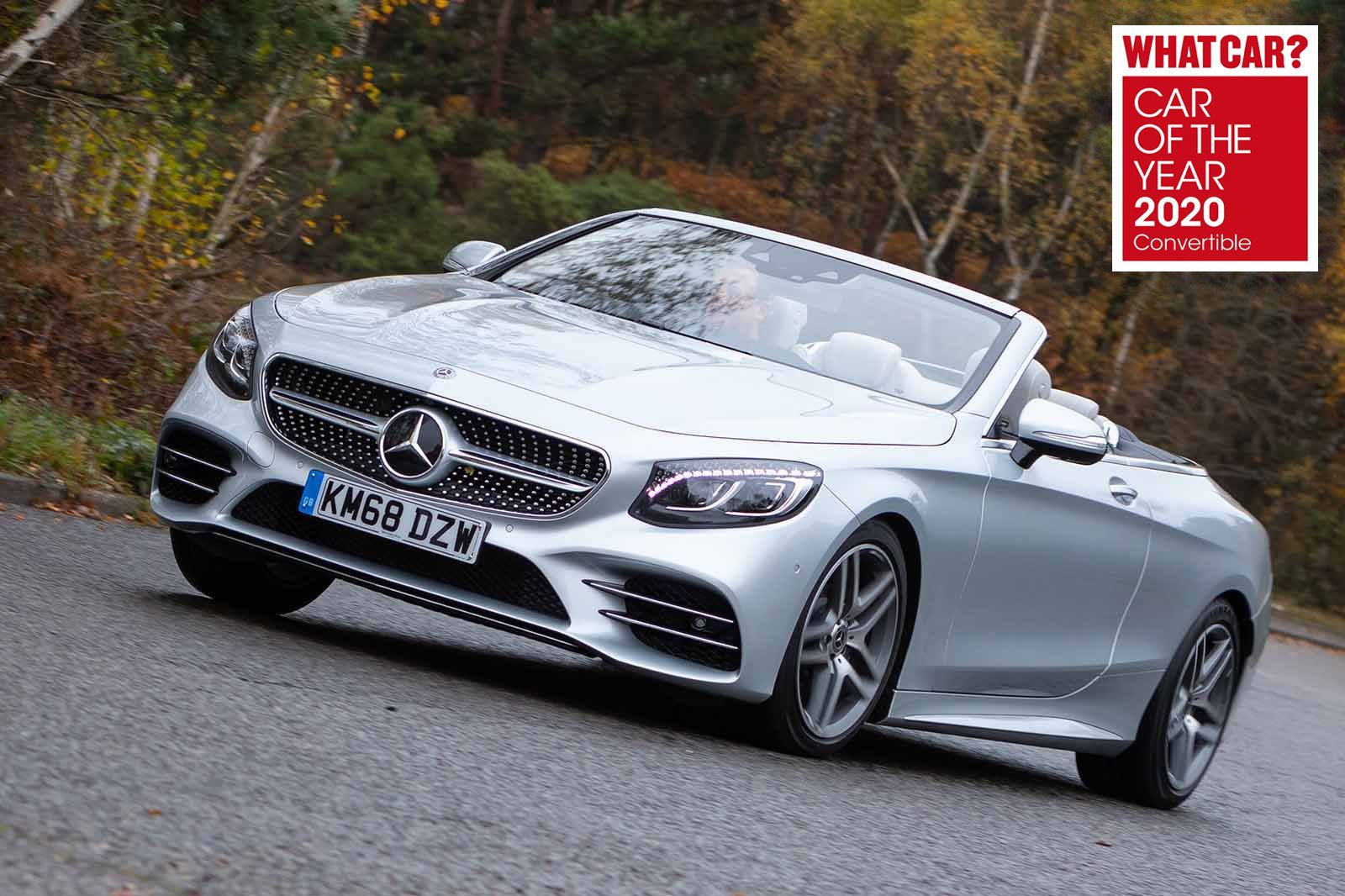 Mercedes-Benz S-Class Convertible with What Car? Awards logo