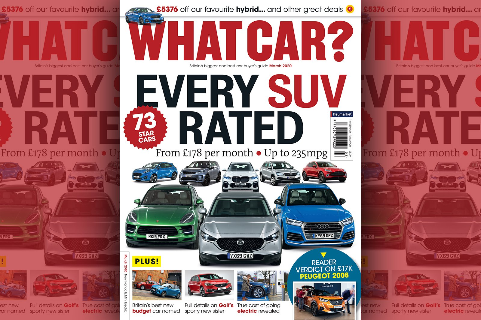 What Car? cover March 2020
