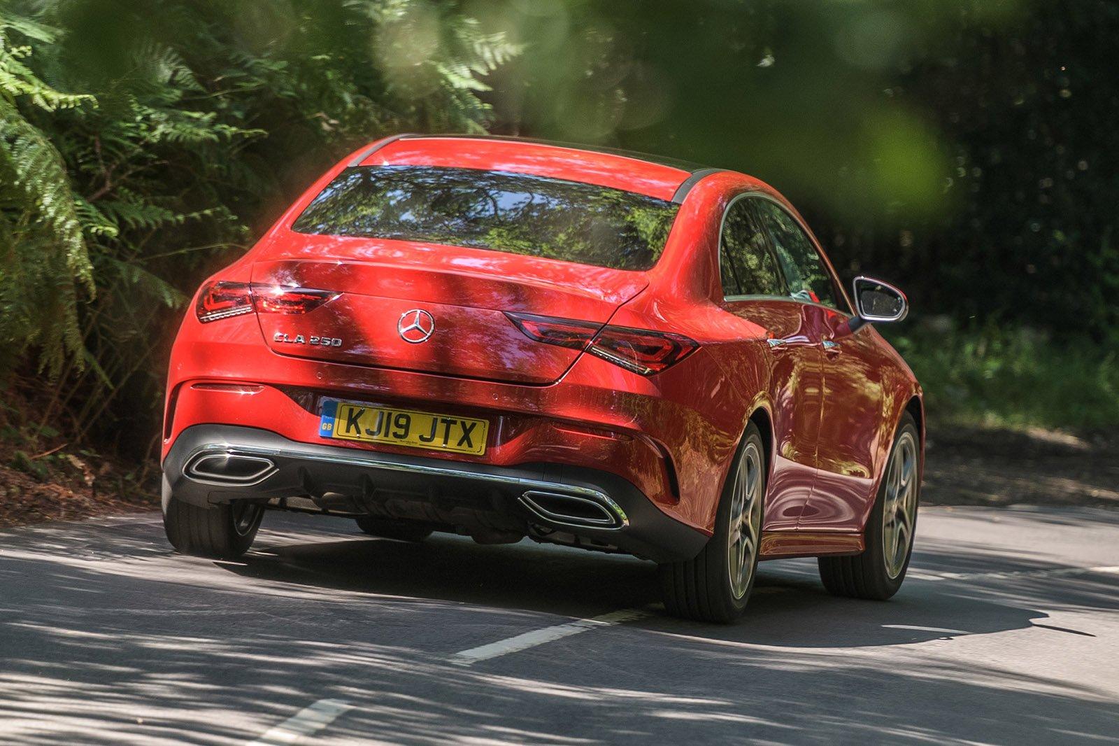 Mercedes CLA 2020 RHD rear right tracking