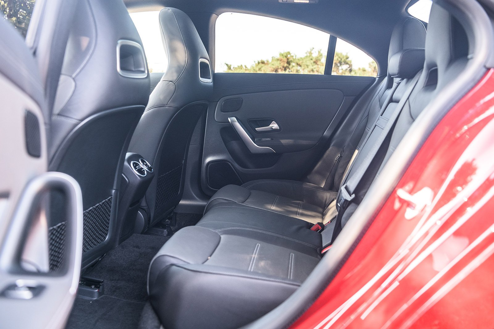 Mercedes CLA 2020 RHD rear seats