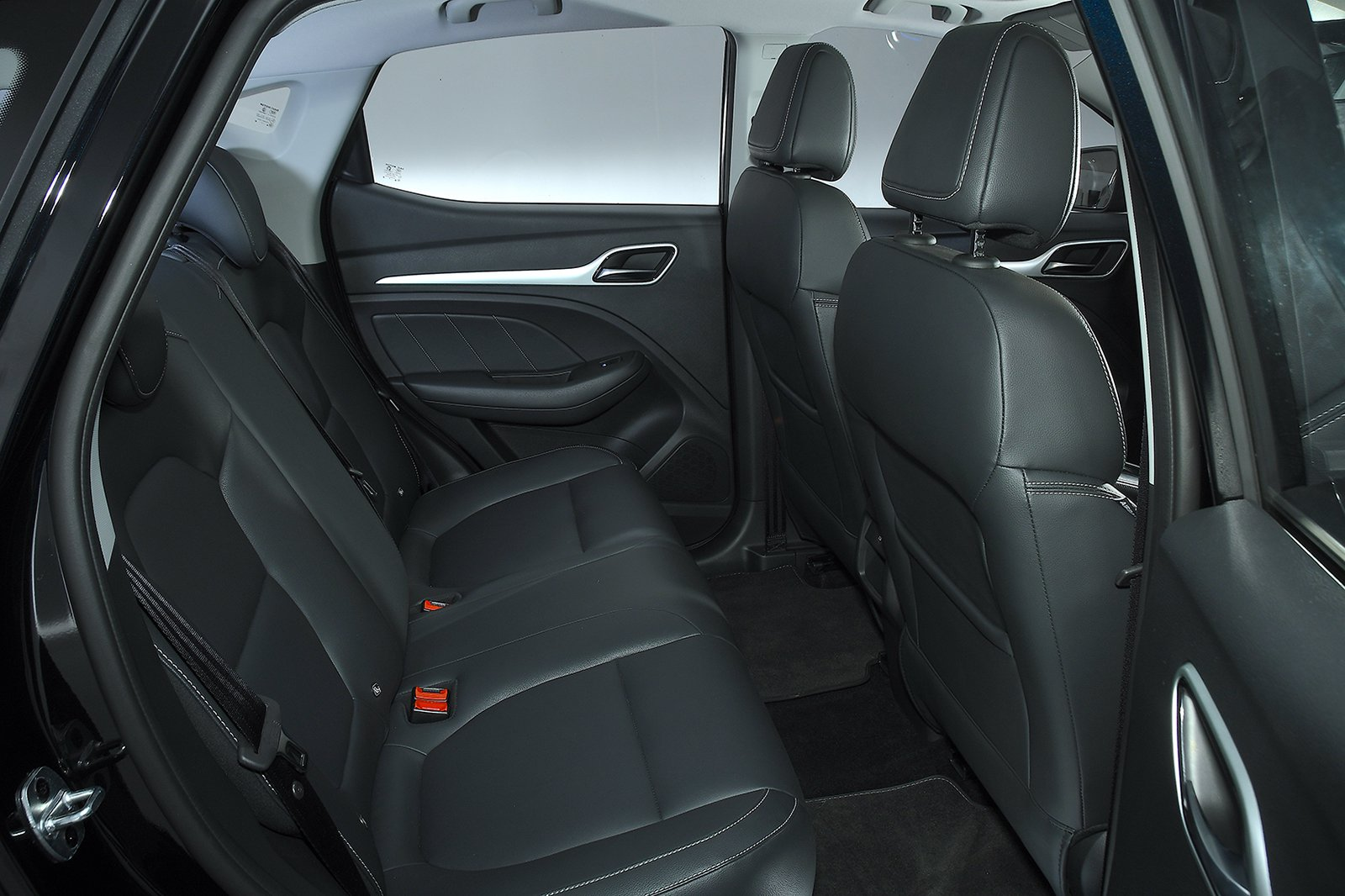 MG ZS EV rear seats