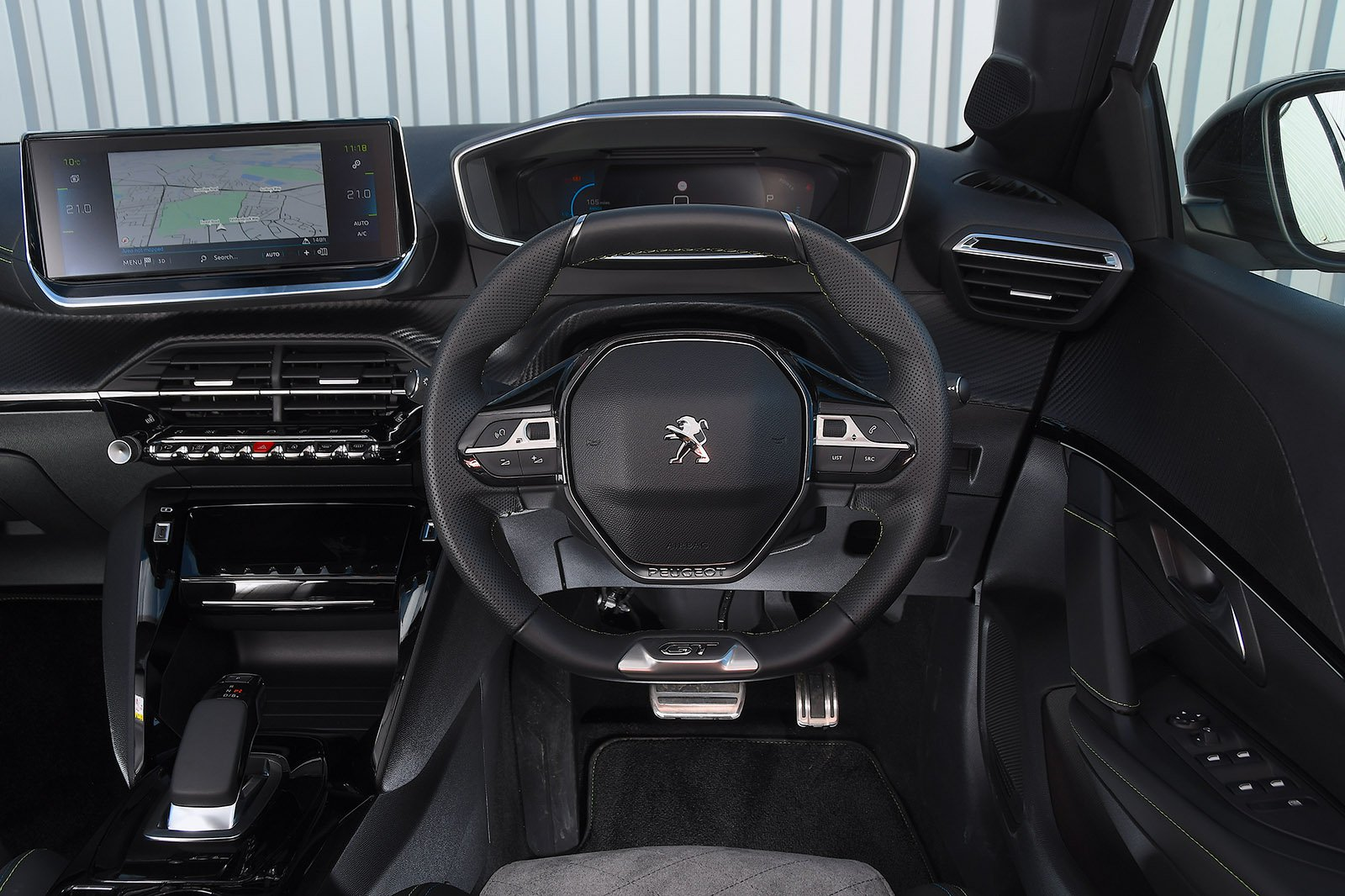 Peugeot e-208 2020 RHD dashboard