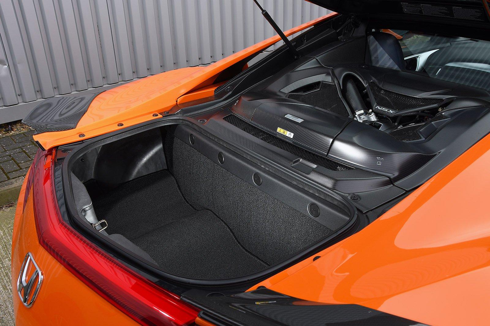 Honda NSX 2020 RHD boot open