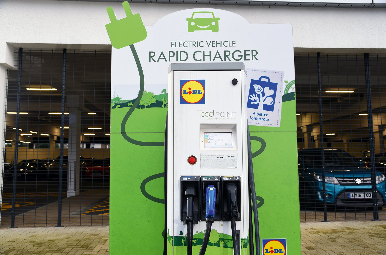 Electric car rapid charger