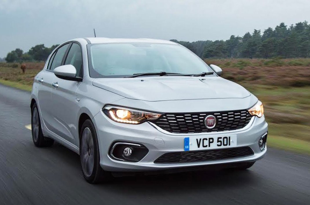 Fiat Tipo front - silver