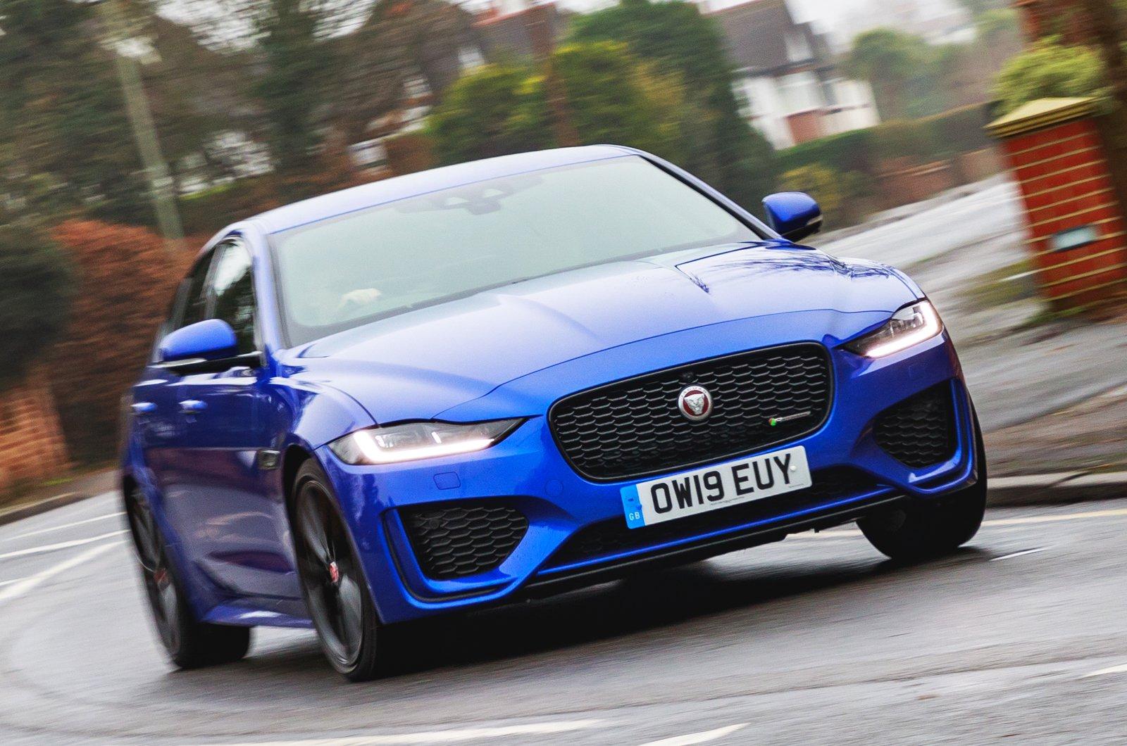 LT Jaguar XE nose