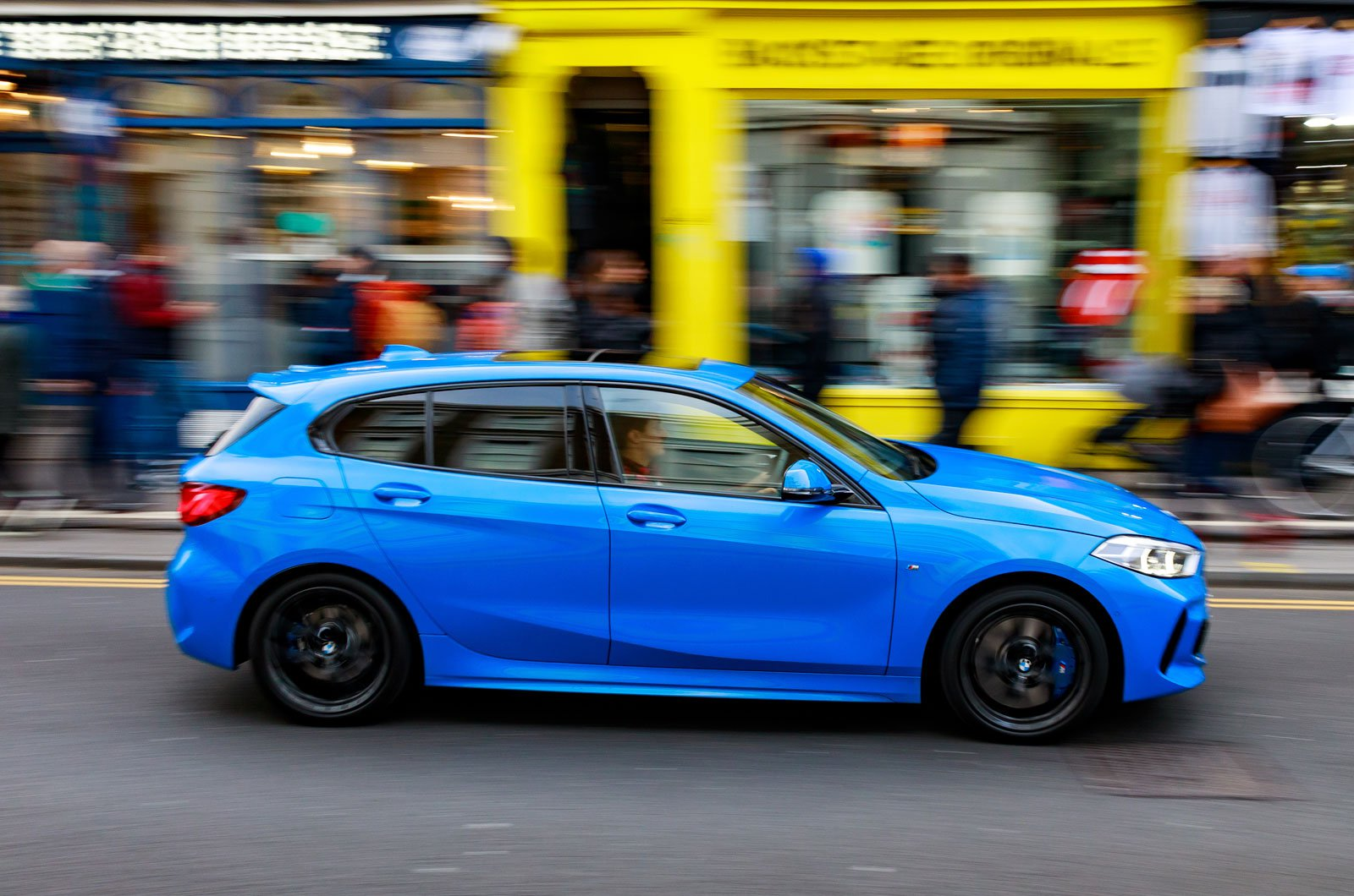 BMW 1 Series Notting Hill tracking