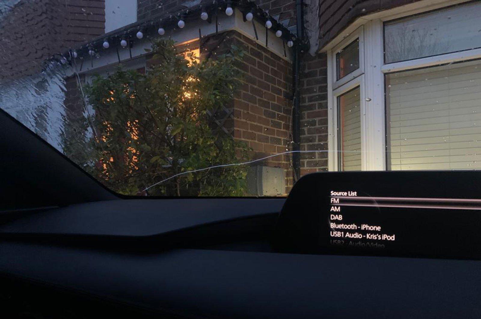 Mazda 3 windscreen