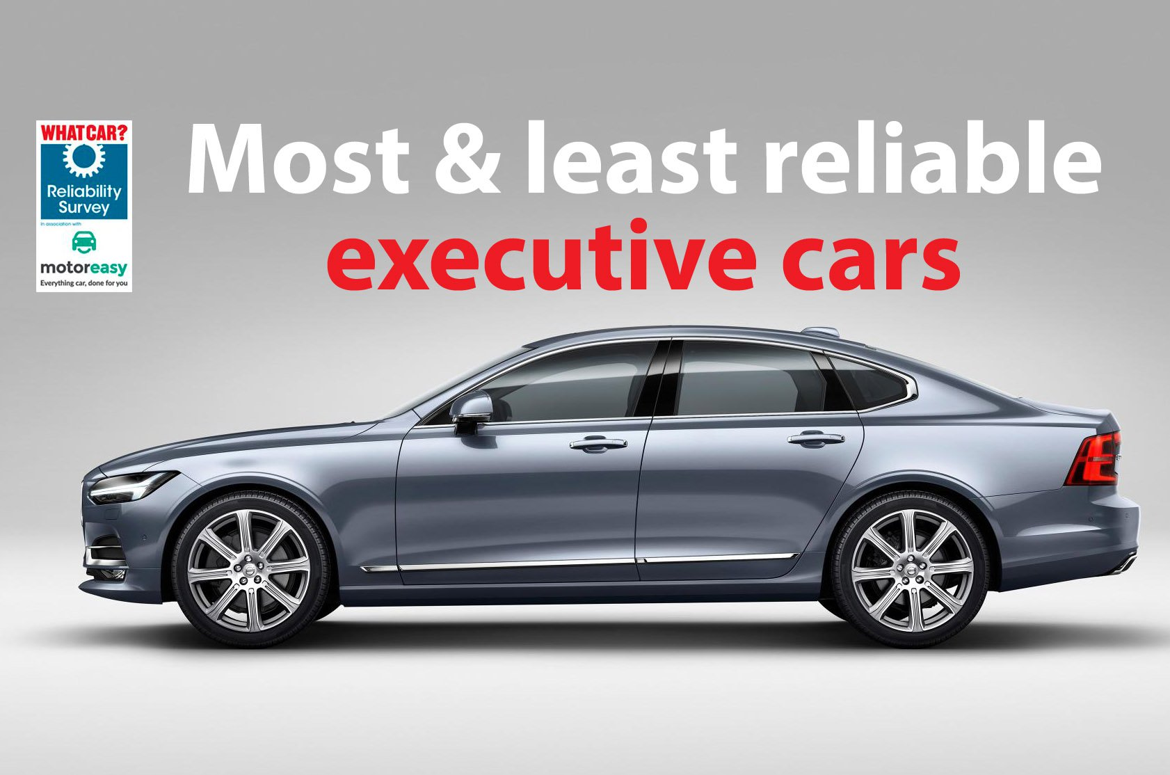 Most and least reliable executive cars