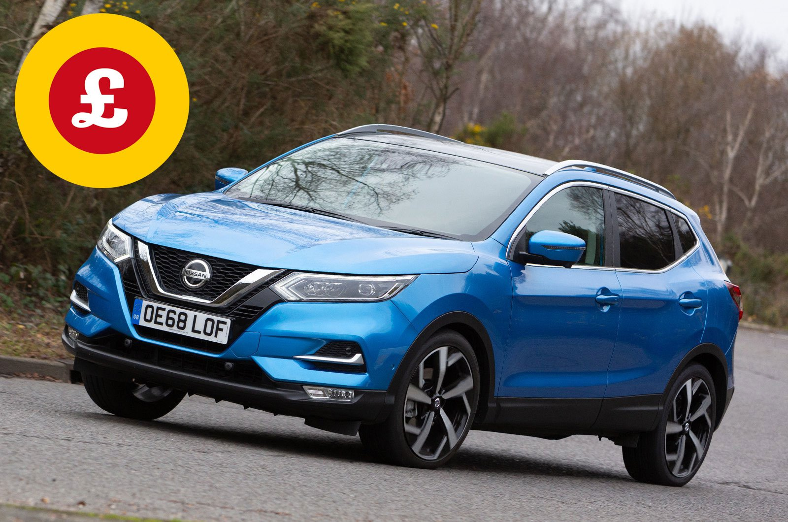 Nissan Qashqai with Target Price logo