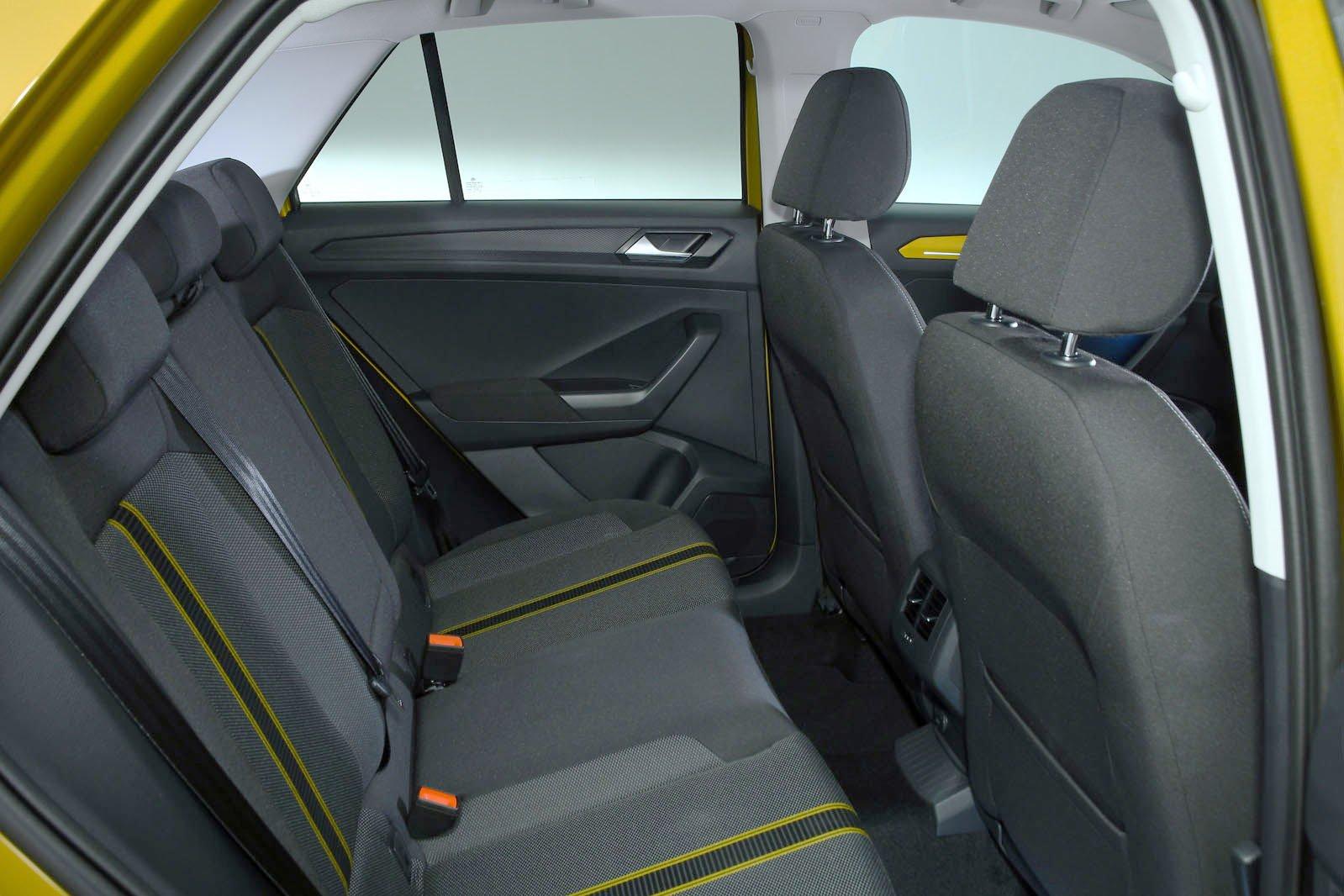 Volkswagen T-Roc rear seats