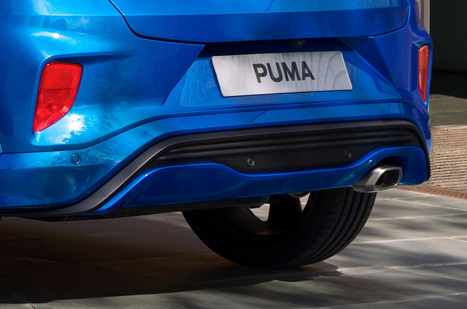 Ford Puma rear bumper