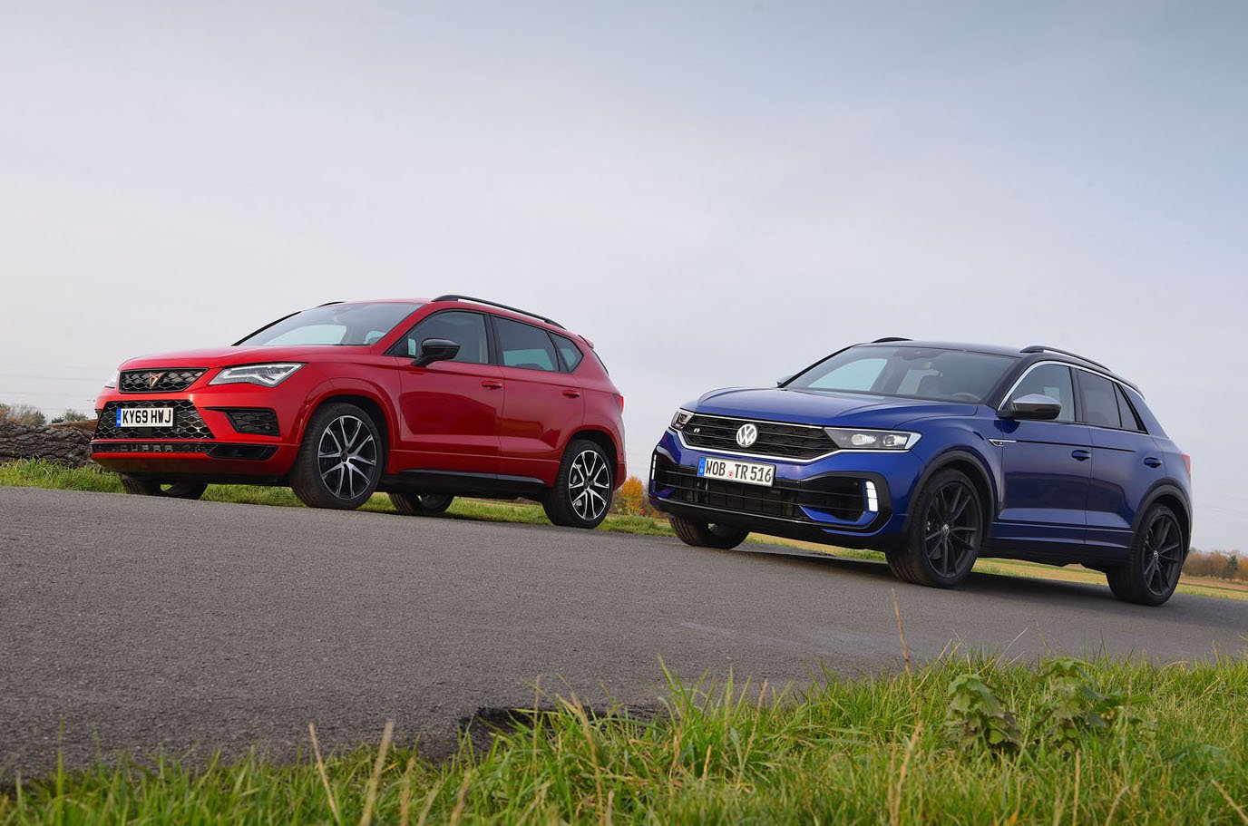 New Volkswagen T-Roc R vs Cupra Ateca