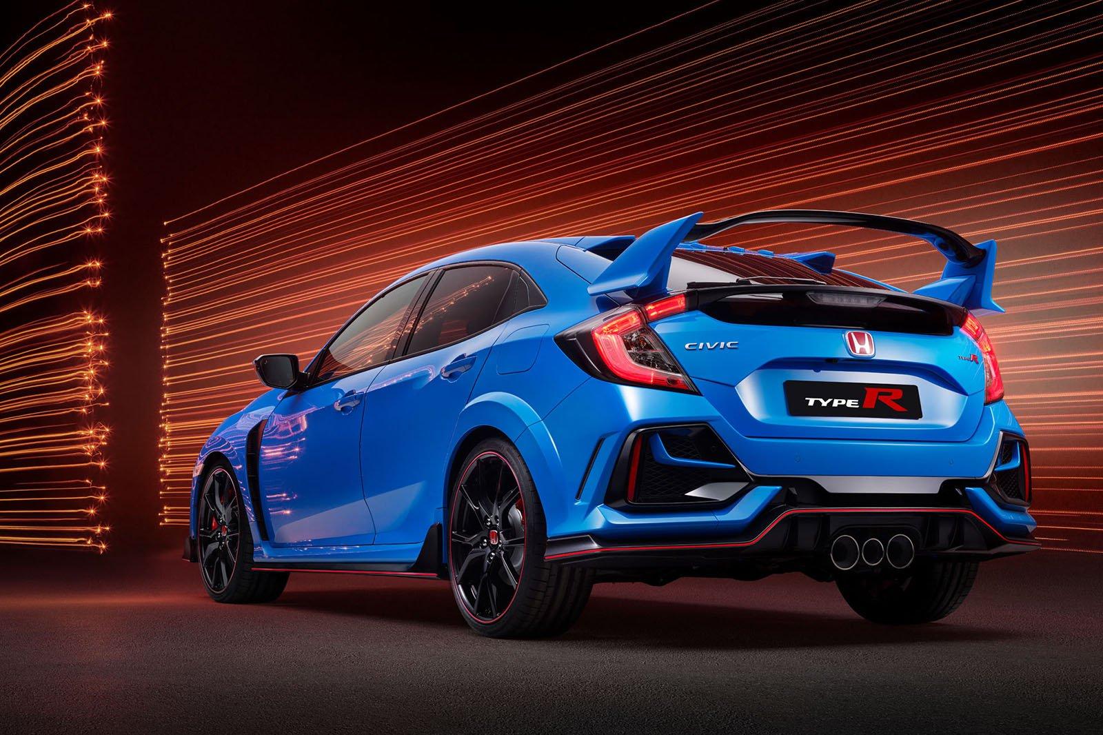 2020 Honda Civic Type R rear