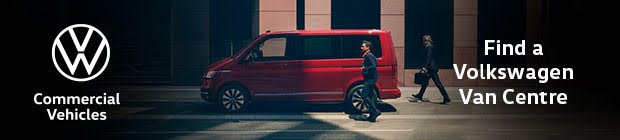 Volkswagen commercial vehicles banner ad - mobile
