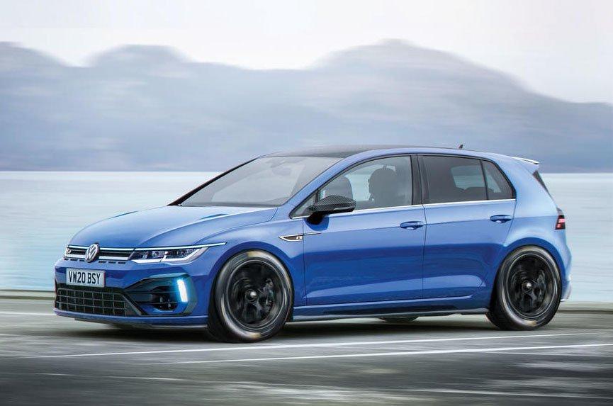 Volkswagen Golf R Plus rendering