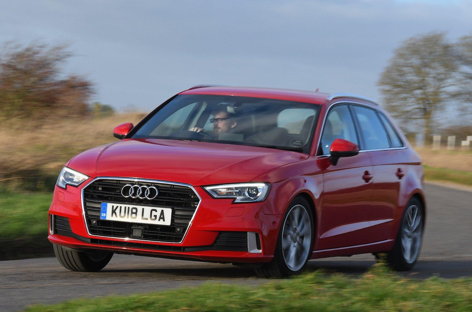 Audi A3 cornering front three quarters