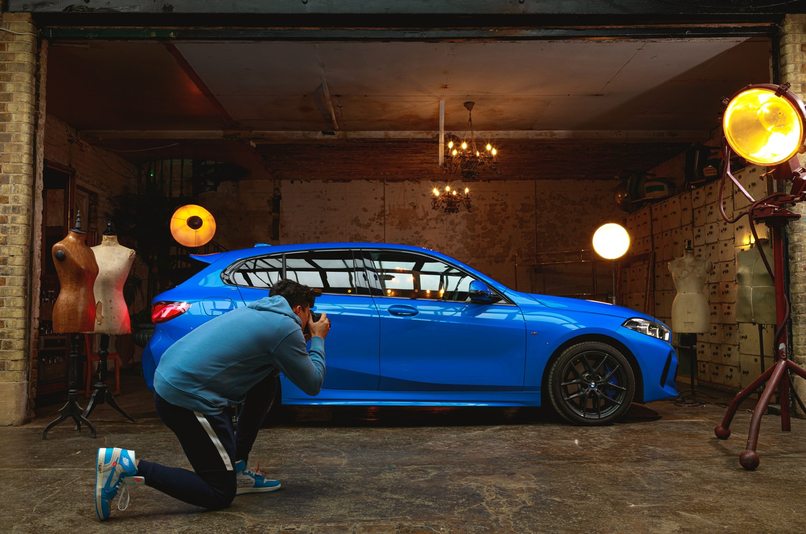 1 Series goodbye in the warehouse