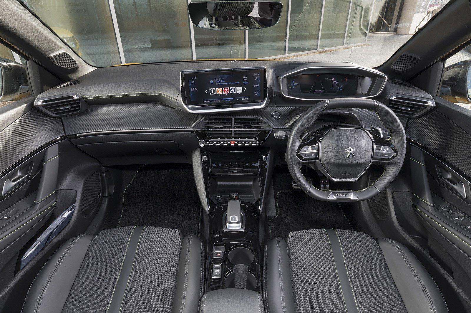 Peugeot 208 2020 RHD dashboard