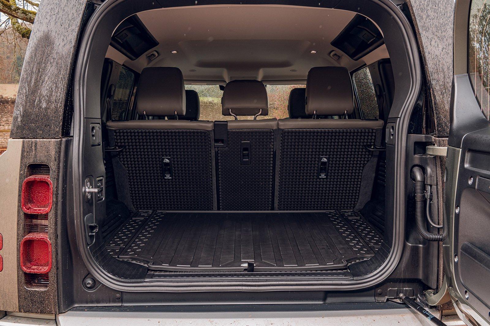 Land Rover Defender 2020 RHD boot open