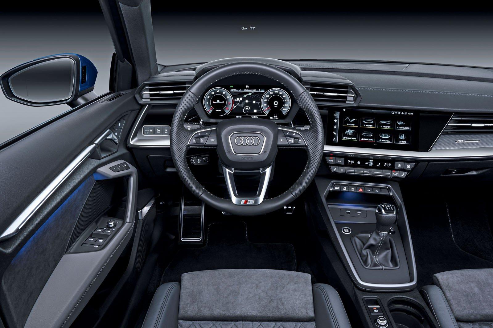 Audi A3 Sportback LHD dashboard