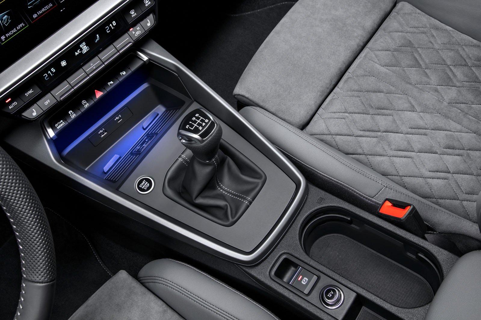 Audi A3 Sportback LHD centre console