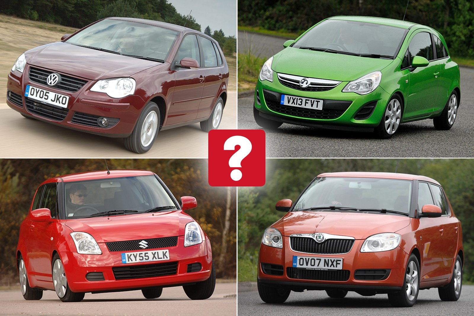 Top 10 best used small cars for less than £2000