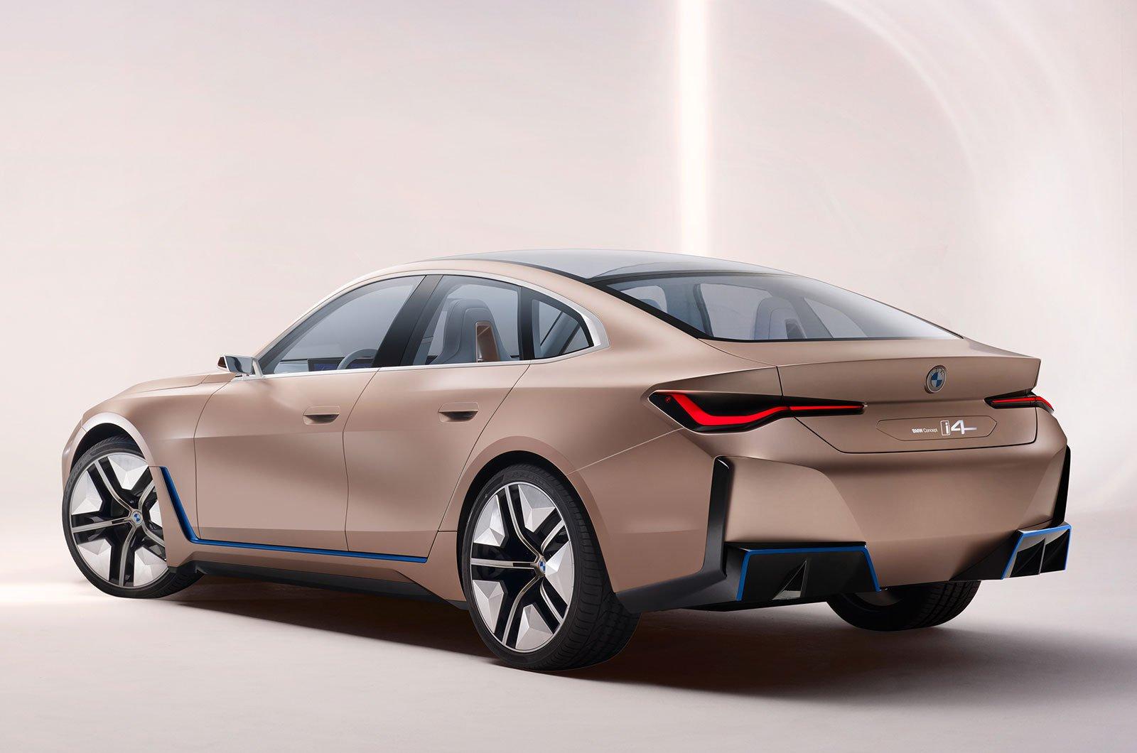 BMW i4 concept rear