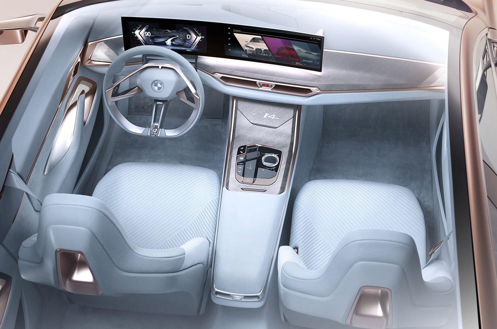 BMW i4 concept interior