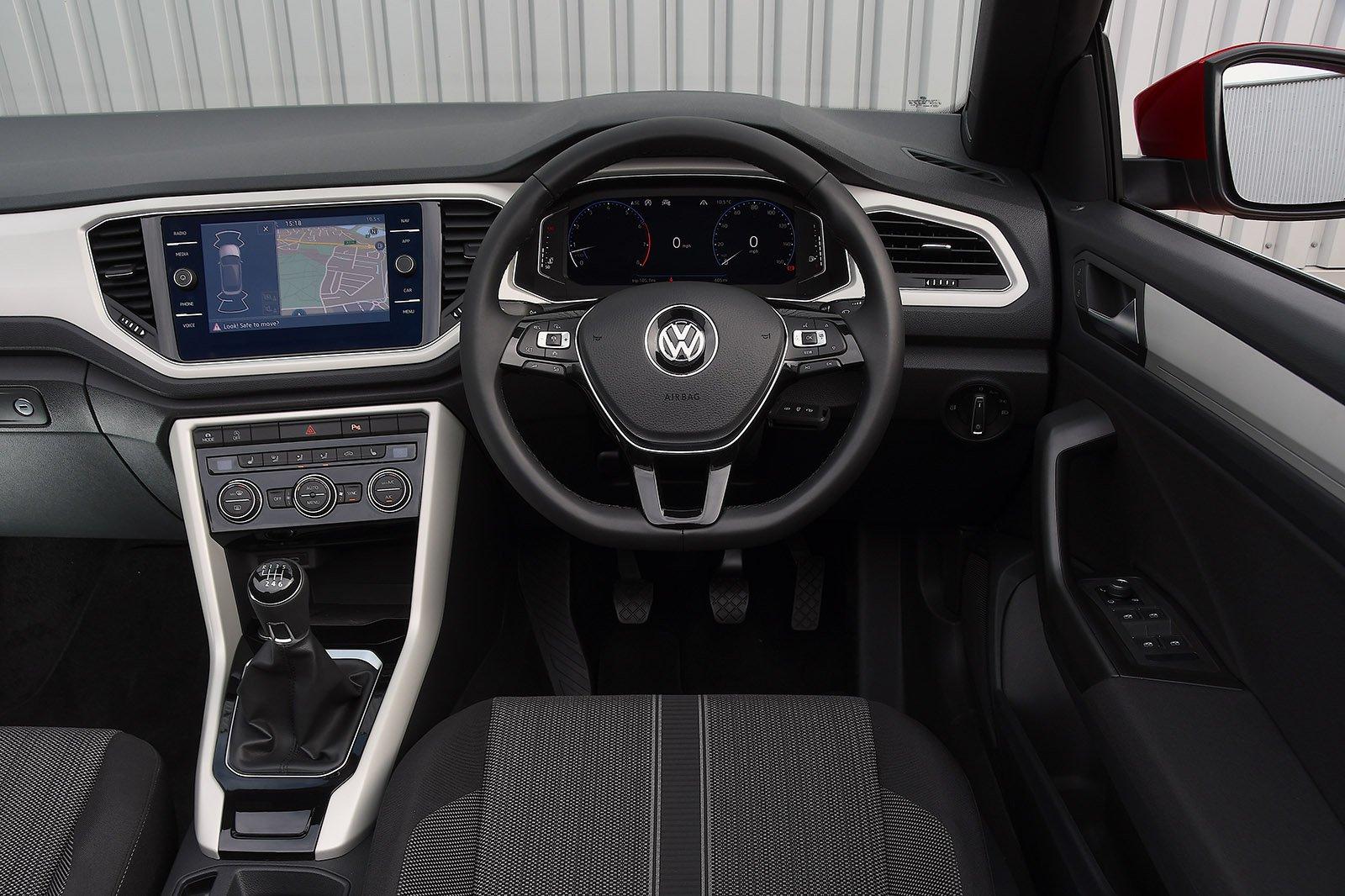 Volkswagen T-Roc Cabriolet 2020 RHD dashboard