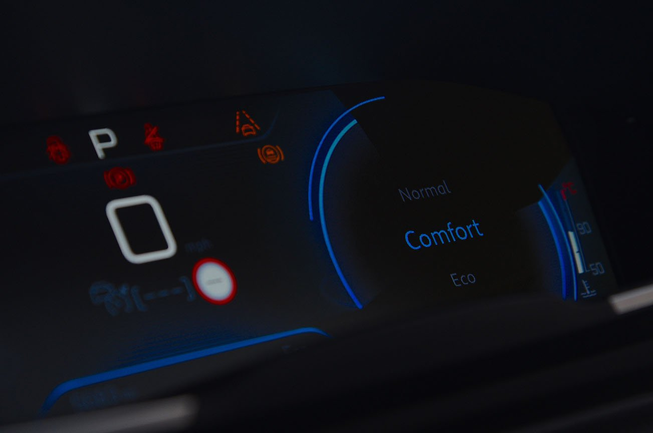 Peugeot 508 SW driving modes