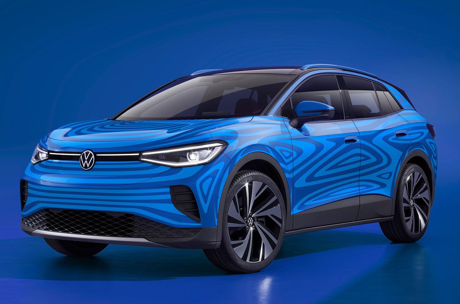 Volkswagen ID 4 front